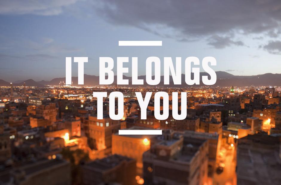 It Belongs To You